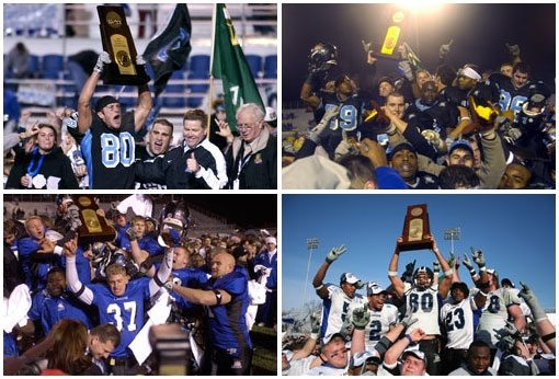 Division II football titles